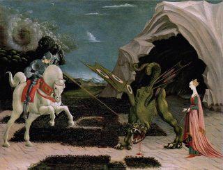 Paolo Uccello- San Giorgio e il drago
